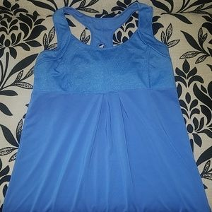 Blue Old Navy Active Tank Size M